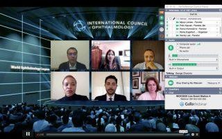 جلسه روشهای جوانسازی صورت در کنگره جهانی چشم پزشکی 2020